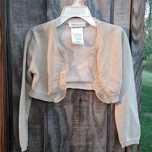 Bonnie Jean Bolero style jacket / sweater